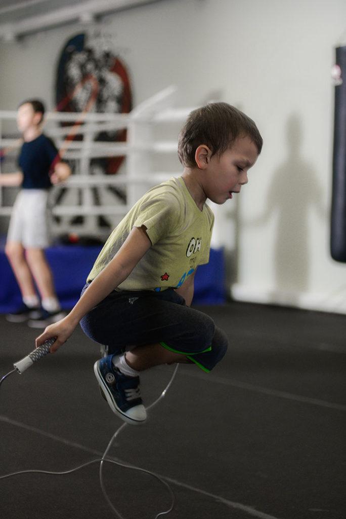 фото ребенок бокс