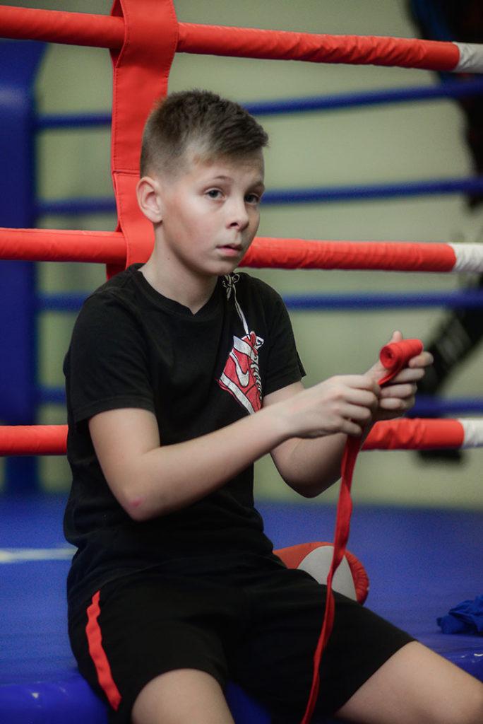 детская школа бокса - картинка