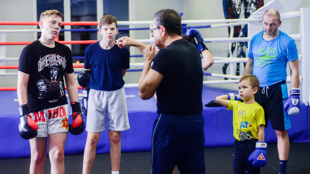 тренировки по боксу - фото
