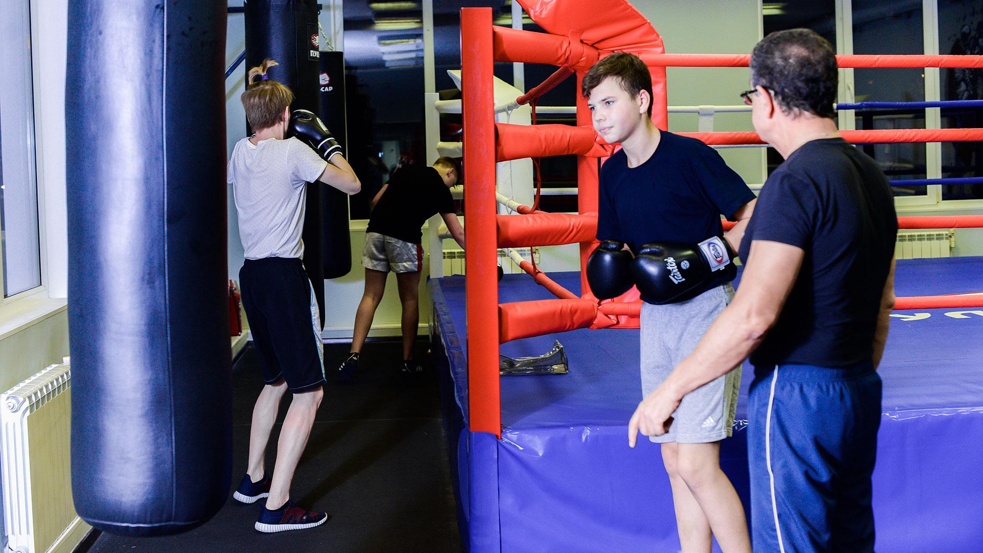 Польза бокса для детей