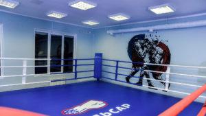 Бокс в зале