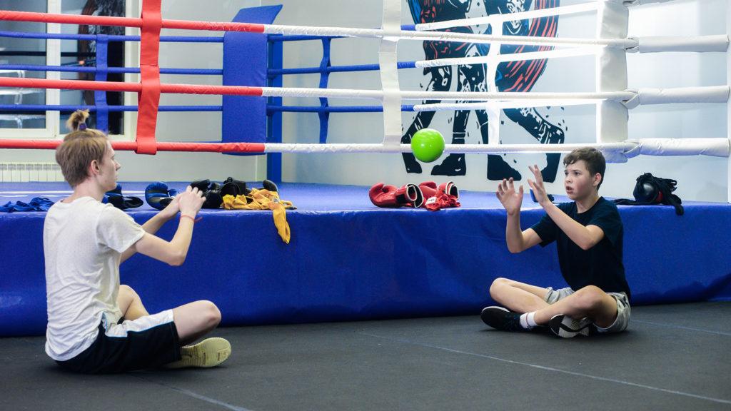 бокс в группе - фото